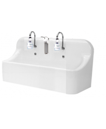 Lavabo asyptique 2 postes